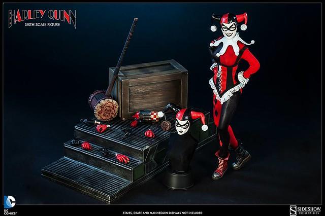 Sideshow - 小丑女 Harley Quinn 1/6 人偶