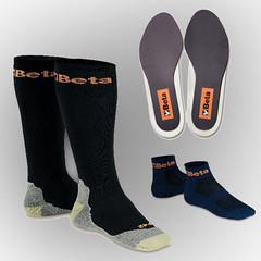 Κάλτσες, κορδόνια, πάτοι υποδημάτων
