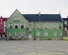 Museum. (wojszyca) Tags: city urban house building green abandoned mamiya architecture facade mediumformat fuji decay shift pro epson 6x7 gossen rz67 75mm 4990 autaut 160ns uppersilesia witochowice lunaprosbc