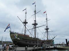 VOC Schip de Amsterdam / Amsterdam (rob4xs) Tags: amsterdam museum replica mokum scheepvaartmuseum zeilschip voc goudeneeuw driemaster vocschip spiegelretourschip vocschipdeamsterdam