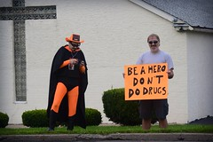Take Back Our Town - MiniRally - Lancaster Ohio (rbatina) Tags: ohio people signs public rally protest drug lancaster oh heroin addiction abuse rubbertoe squirtman uploaded:by=flickrmobile flickriosapp:filter=nofilter