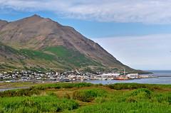 Small Fishing Town - Siglufjrur - North Iceland (Sig Holm) Tags: landscape iceland village august sland 2012 islande gst thule siglufjrur ijsland  islando icelandiclandscape orp slensktlandslag  ysland lislande  islandi