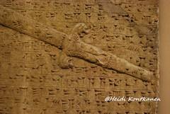 Sword of the king (konde) Tags: cuneiform assyria nimrud
