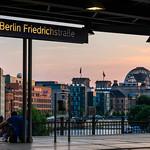 Station with a view - Berlin Friedrichstraße