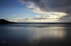Bleu nuit (photosenvrac) Tags: ocean mer marin bretagne bleu zen nuage paysage poselongue serenite thierryduchamp