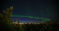 Northern Lights and Satellite (AlexanderHorn) Tags: lights alexander horn northern