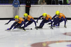 Invitationcup 2013 - day 2 (NLHank) Tags: ice sport canon eos action international 7d 70200 heerenveen speedskating thialf shorttrack 2013 knsb eos7d invitationcup