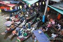 Amphawa Floating Market (Rolandito.) Tags: thailand asia market bangkok south floating east southeast markt march thailande flottant amphawa schwimmender