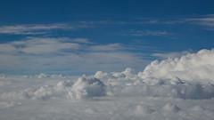 Loin des hommes (Luc Marc) Tags: sky cloud white peace space bleu ciel rest nuage stillness blanc espace bule calme paix repos