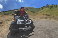Me and Jeep | Padang Savanna, Bromo