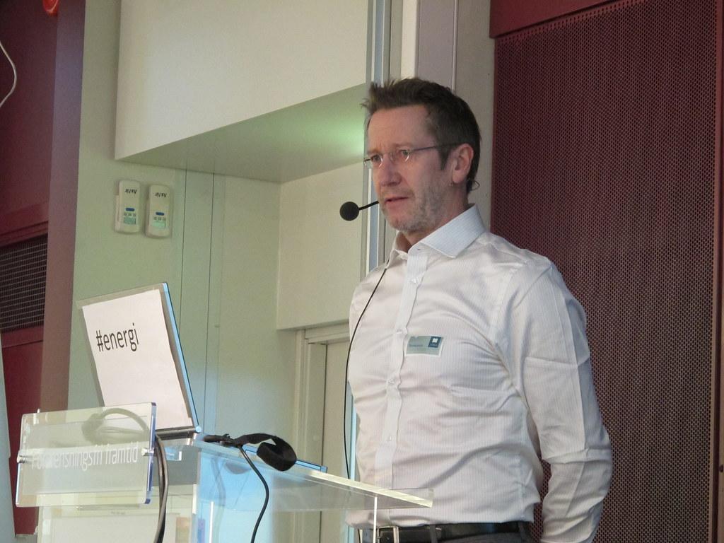Jan Sørensen i NVE. Foto: Kjerst Dørumsgaard Moxness, Mijødirektoratet