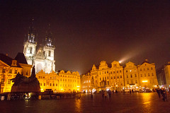 Praha - Old Town Square() (lighting.detectives) Tags: lighting light color architecture square cityscape nightscape streetlamp praha nighttime  oldtownsquare  streetview          kaorumende   lightingdetectives transnationaltanteidan