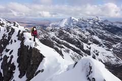 Fantastic Scenery on a Winter Traverse of the Cuillin Ridge (Alastair Begley) Tags: winter skye scotland unitedkingdom exploring adventure climbing mountaineering greatest isle challenge elgol britains scottishwinter cuillinridgetraverse