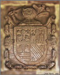 CANTABRIA  Carmona.   C.M. (Cesalf) Tags: escudos herldica
