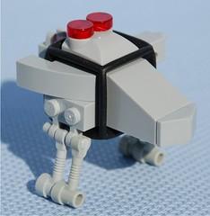 Grey Cube (Mantis.King) Tags: lego mecha mech moc microscale mechaton mfz mf0 mobileframezero