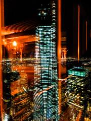 1WTC (wwward0) Tags: nyc windows tower night skyscraper newjersey manhattan illuminated hudsonriver wtc 1worldtradecenter