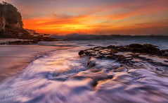 Heaven Shall Burn (Satrya_Budhi) Tags: sunset sea sky bali sun seascape water sunrise indonesia landscape scenery waves waterscape