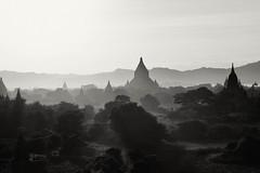 DSC_8507-Edit-Edit.jpg (Luminor) Tags: travel trees sunset sea sun heritage nature fog sepia pagoda haze ancient nikon asia view burma culture unesco myanmar rays tones 70200 depth sights bagan perfectlight d700