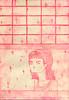 voyeur pink (janeherkenhoff) Tags: window girl etching aquatint aquafortis