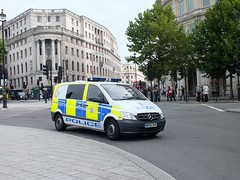 British Transport Police L43 WP60DVF (Waterford_Man) Tags: trafalgarsquare btp britishtransportpolice l43 wp60dvf
