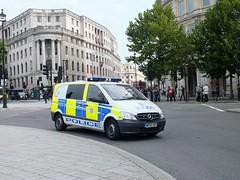 British Transport Police L43 WP60DVF (Waterford_Man) Tags: trafalgarsquare btp britishtransportpolice l43 wp60dvf