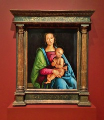 Madonna And Child (ArtFan70) Tags: usa art america painting manchester christ unitedstates madonna mary religion jesus newhampshire nh christian christianity artmuseum currier jesuschrist madonnaandchild curriermuseumofart strawsmyth circleofperugino