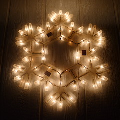 the last xmas star (feraldata) Tags: christmas light lights palmsprings decoration