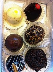 Laura's Chocolates (lamarstyle) Tags: louisiana sweet chocolate neworleans iphone 2014 lamarstyle laurascandies