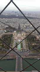 Trocadero dalla Tour Eiffel