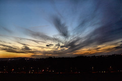Swan Sky (Aozma Qureshi) Tags: sunset sky landscape town swan power yahoo:yourpictures=duskdawn