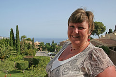 My Wife in Spain (Merlin_1) Tags: holiday spain jane wife belinda 50thbirthday laherradura