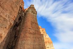 Red Rock Canyon State Park (Candice, AKA Bessie Smith) Tags: redrockcanyon california sky nature clouds unitedstates desert cliffs mojave redrockcanyonstatepark