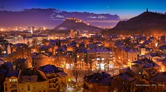 Plovdiv / Пловдив (StoianStoianov) Tags: city winter snow town bulgaria plovdiv зима къщи вечер българия магия приказка сняг пловдив тепета