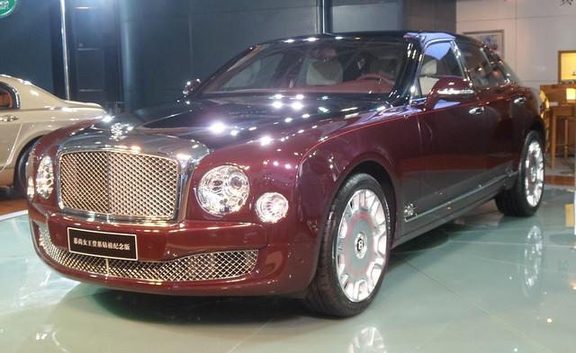 sedan bentley mulsanne bentleymulsanne chongqingautoshow 2012chongqingautoshow