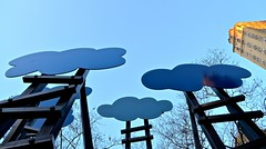 Olaf Breuning: Clouds (DOTCALM9) Tags: newyorkcity clouds march centralpark fifthavenue 2014 60thstreet olafbreuning nikond5100