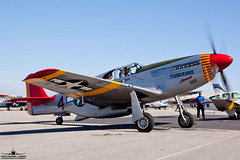 """CAF P-51C Mustang Tuskegee """"Red Tail"""" NL61429 (PhantomPhan1974 Photography) Tags: mustang tor veteran caf redtail toa v12 torrance roush northamerican tuskegee p51c tuskegeeairmen torranceairport ktoa northamericanaviaiton n61429 nl61429 roushengine"""