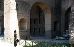 Basilica of Maxentius and Constantine, visitor