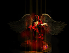 angel caido (jolugarmar) Tags: angel alas angelcaido
