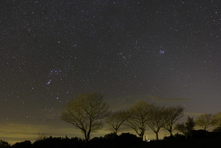 The South Western Night Sky
