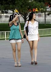 white legs (12) (Steven pan 8) Tags: girls sexy girl beautiful beauty asian pretty legs skirt sultry oriental pantyhose chinesegirl asianbeauty
