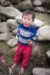 Local kid (Sapa region) (lea.maguero) Tags: trip travel people mountains kids children photography asia vietnam local sapa minorities ethnie