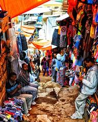Harar, Ethiopia (Rod Waddington) Tags: africa stone alley market stall historic ethiopia ethnic ethiopian harar harari