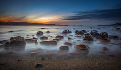 Morning (BjørnP) Tags: sunrise le longexposure beach water sea seascape colors light landscape bjørkeland peder bjørn sony egersund rogaland norge norway explore