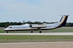 N721AL  - DOJ Aircraft (Zane Adams.TX) Tags: dehaviiland dash8 dhc8400 doj departmentofjustice usa 2017 dallas dallasexecutiveairport