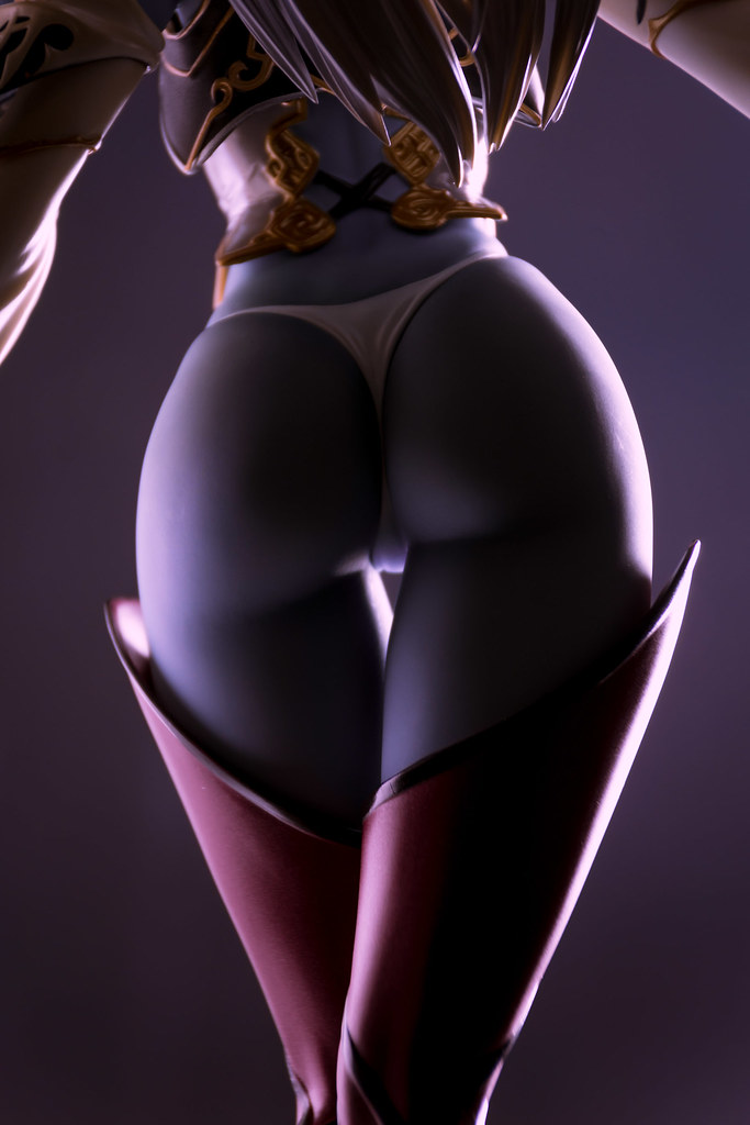 Erotic dark elf