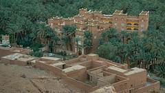 Hotel Asma (Tom Levold (www.levold.de/photosphere)) Tags: fujixt2 marokko zagora morgen morning morocco dawn palmen palmtrees
