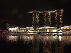(procrast8) Tags: singapore marina bay sand hotel shoppes shopping mall artscience museum helix bridge