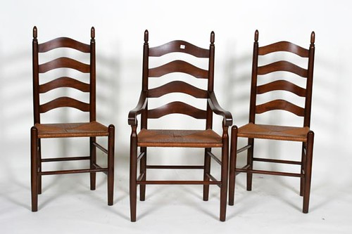 Set of six Clore Ladderback Chairs ($588.00)