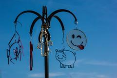 Smile (Tiolu.) Tags: smile sourire clindoeil sculpture fer forgé