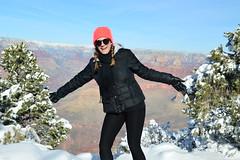 Grand Canyon 39 (Krasivaya Liza) Tags: grandcanyon grand canyon national park canyons nature natural wonder az arizona holiday christmas 2016 snowy winter cliffs cliffside edgeofcliff